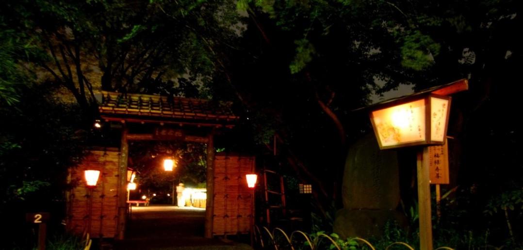 Contemplation de la lune au Mukojima Hyakkaen, Tokyo (article par amuzen)