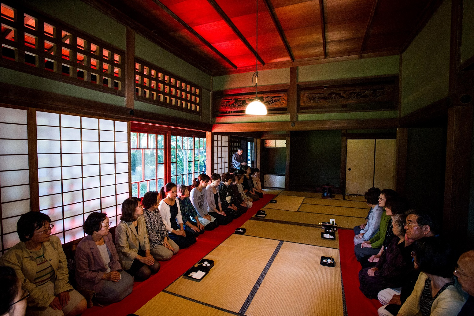 Tokyo Grand Tea Ceremony tatemonoen