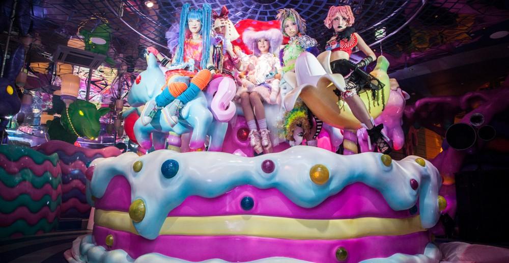 Kawaii Monster Café à Harajuku, Tokyo (article par amuzen)