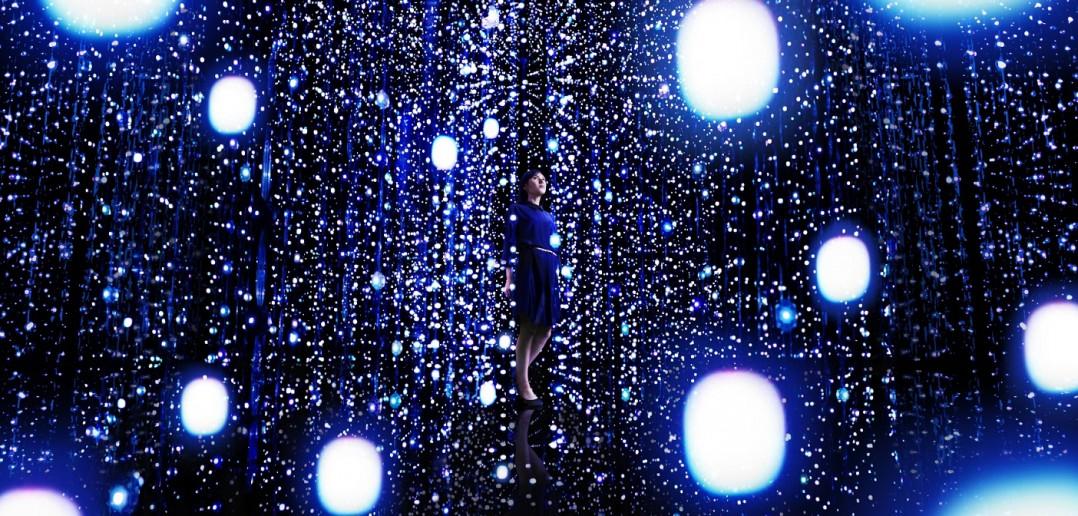 exposition teamLab au Pola Museum Annex, Tokyo (article par amuzen)