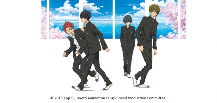 High Speed! Free! Starting Days (article by amuzen) picture © 2015 O.K/HS