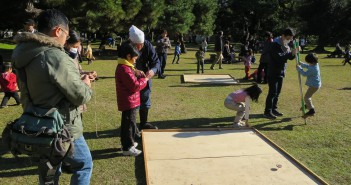 New Year 2016 Hama-rikyu © Tokyo Metropolitan Park Association (article by amuzen)