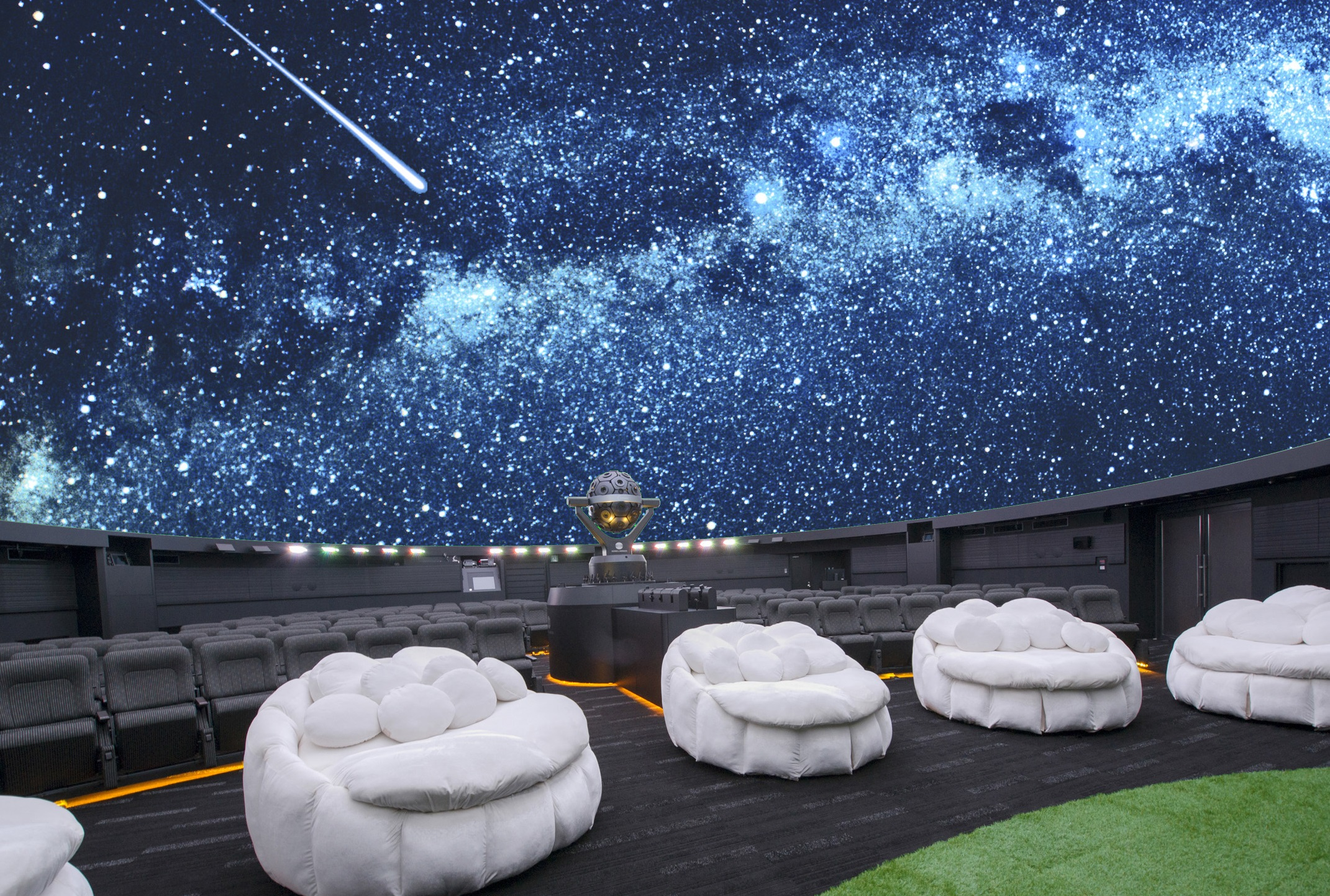 "Konica Minolta Planetarium ""Manten"" in Sunshine City"