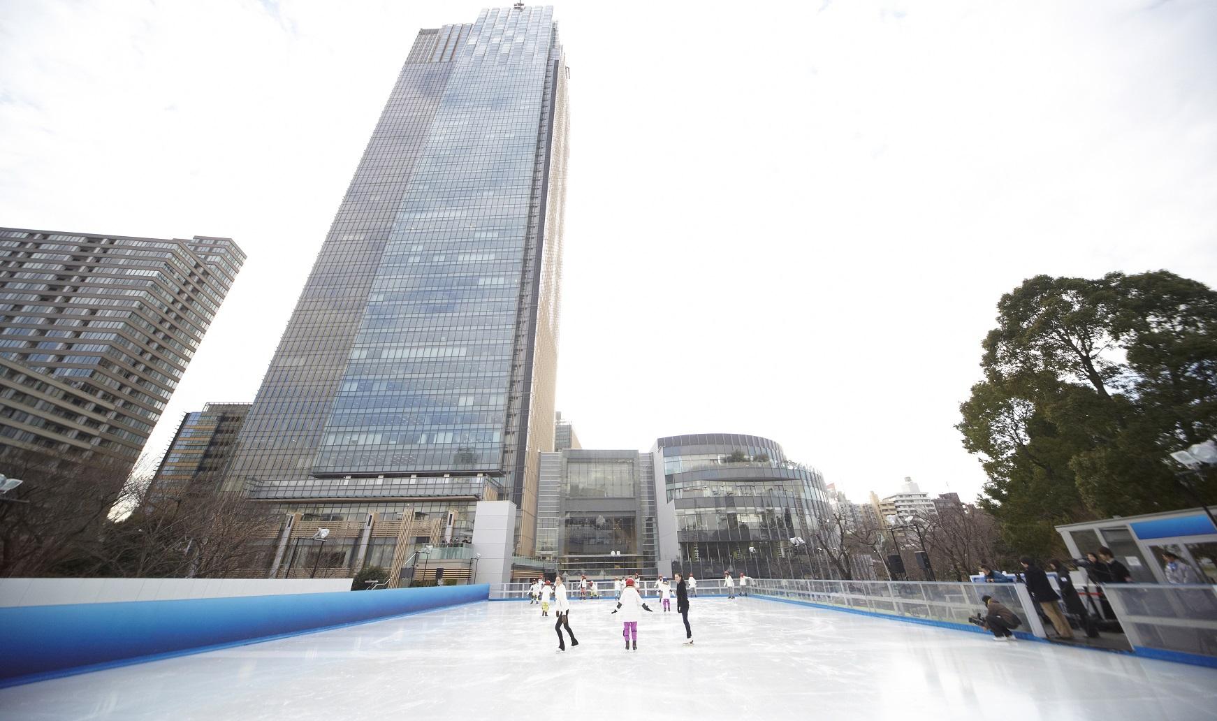 Mitsui Fudosan Ice Rink in Tokyo Midtown