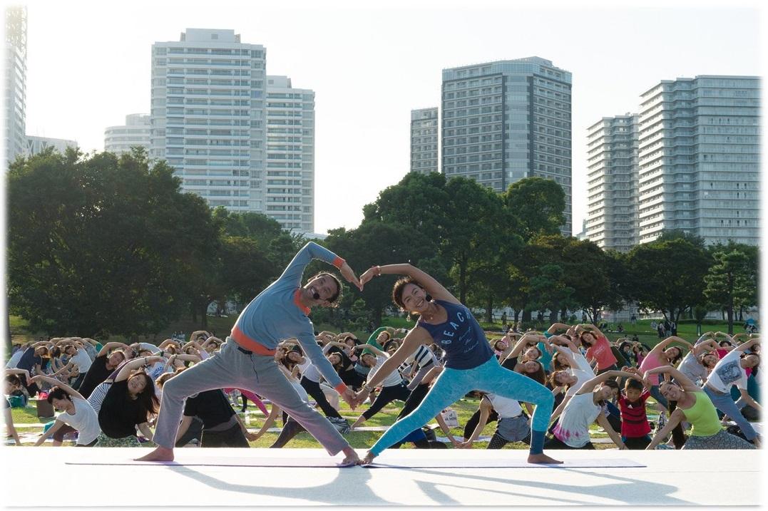 Yogafest Yokohama 2016 (article d'amuzen)