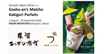 Kakigoris au matcha de la maison Gasho-an - MOSHI MOSHI BOX (article d'amuzen)