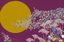Contemplation de la lune et fleurs de Lespedeza 2019