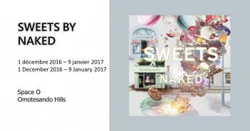 Sweets by Naked: Ne vous contentez pas de goûter ! Regardez, touchez et sentez ! (article d'amuzen)