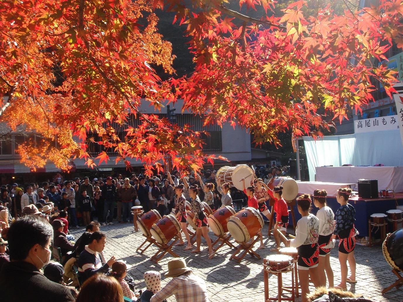 Mont Takao - le festival des feuilles d'automne (article d'amuzen)