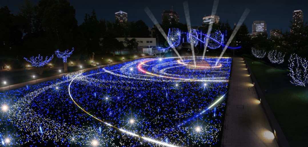 Midtown Christmas 2016 et le « Starlight Garden » (article d'amuzen)