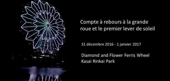Compte à rebours 2017 au Kasai Rinkai Park (article d'amuzen)