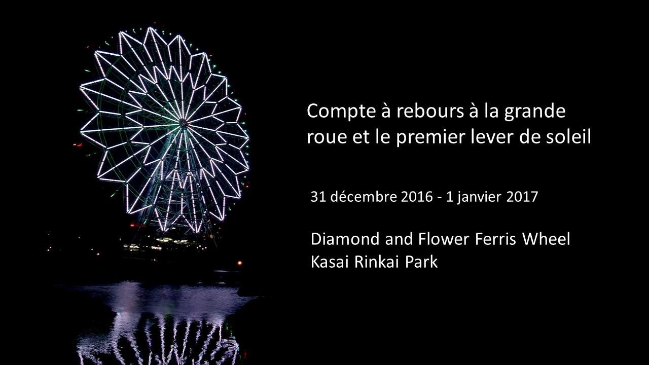 Compte à rebours Kasai Rinkai Park