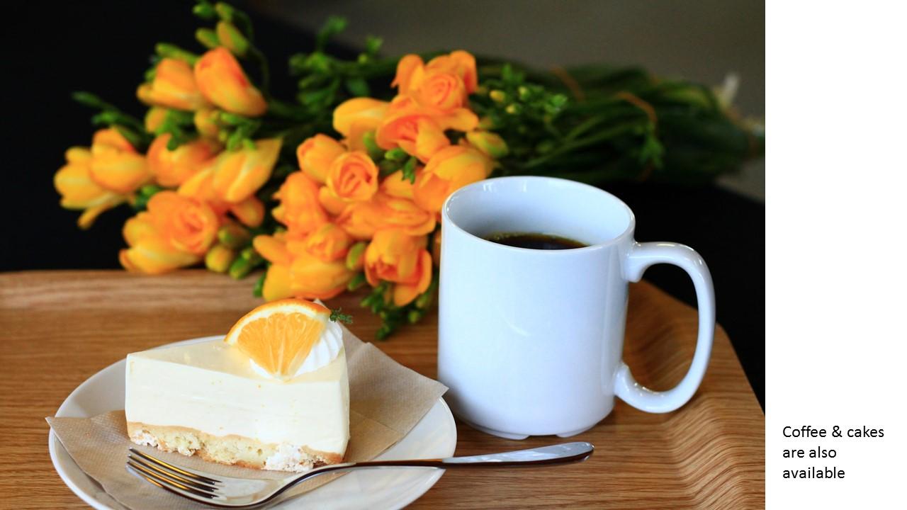 freesia coffee & cakes