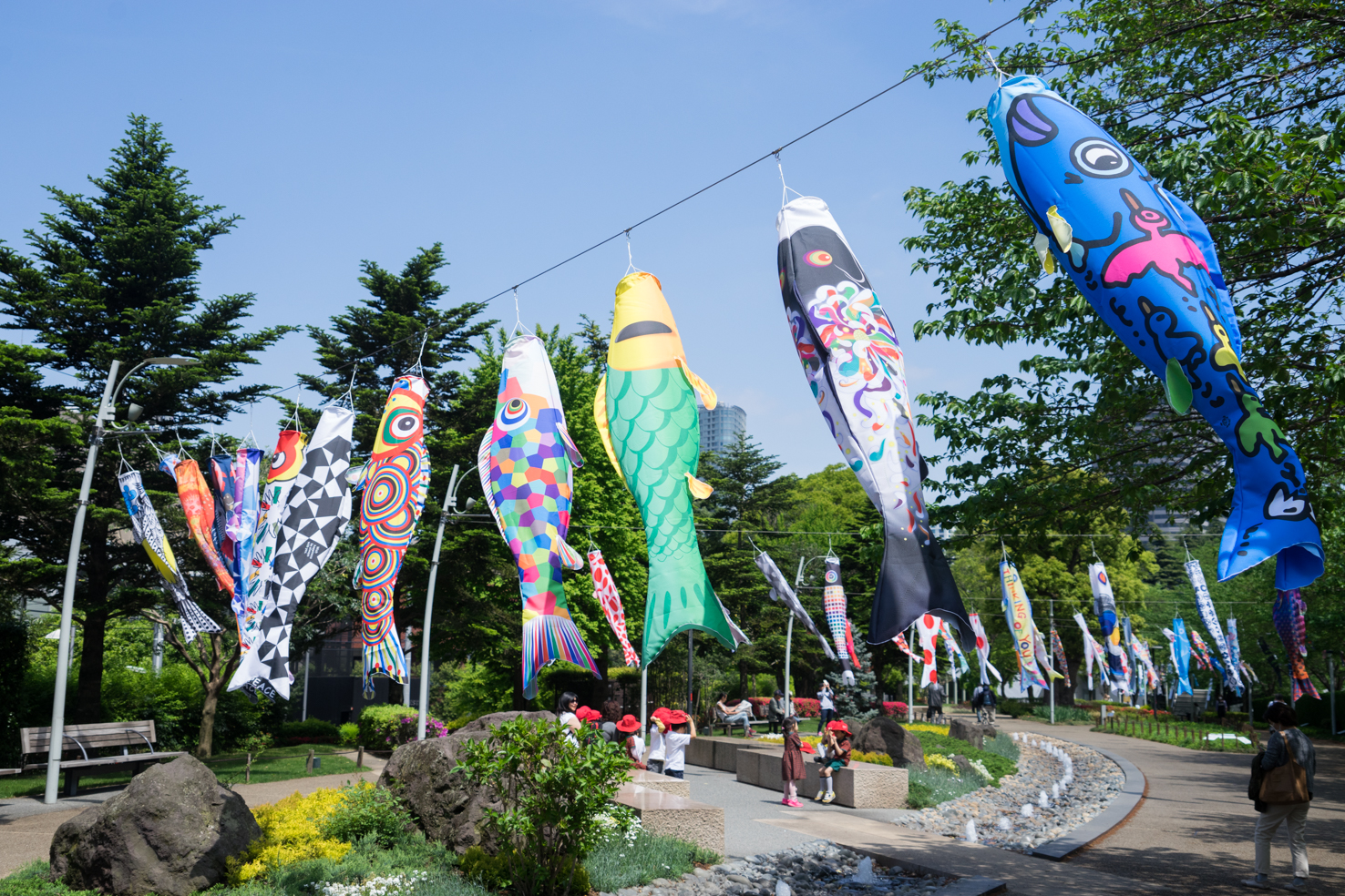 MIDTOWN OPEN THE PARK 2017 koinobori