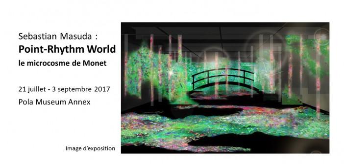 Exposition le « Point-Rhythm World » de Sebastian Masuda (article d'amuzen)