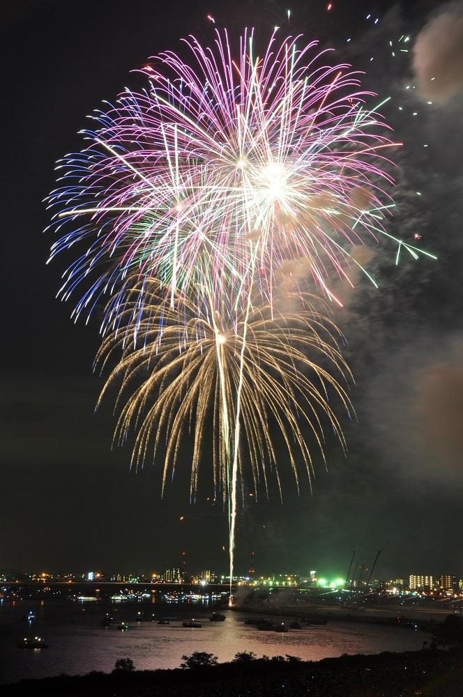 42e Feu d'artifice de la ville d'Edogawa 2017 (article d'amuzen)