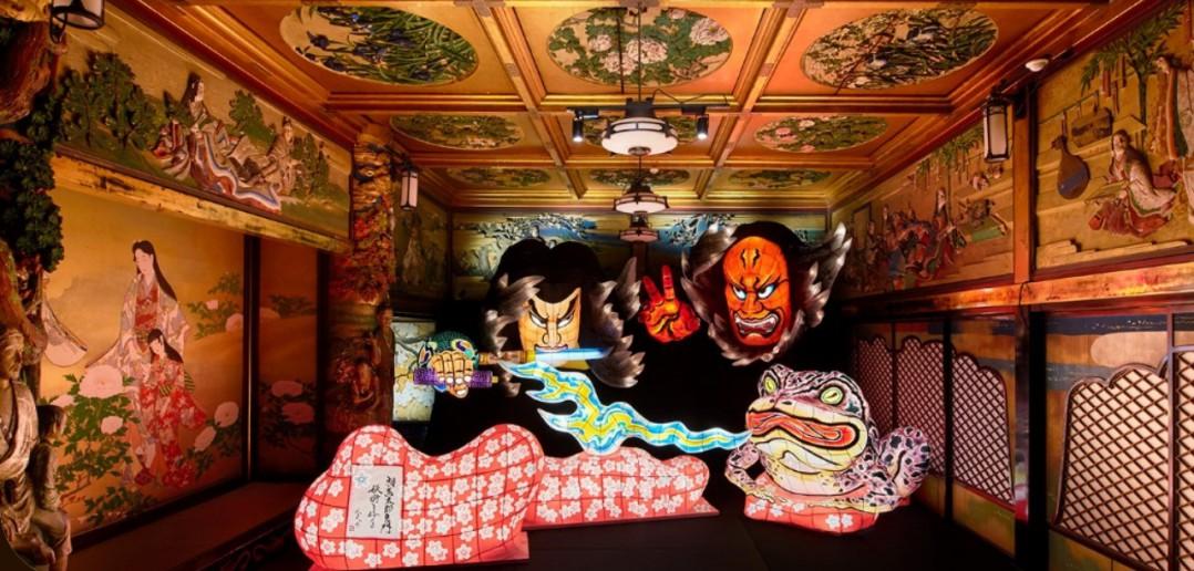 Eclairage d'art japonais à l'Escalier aux cent marches 2017 (article d'amuzen)