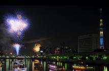 40e Feu d'artifice de Sumida-gawa 2017