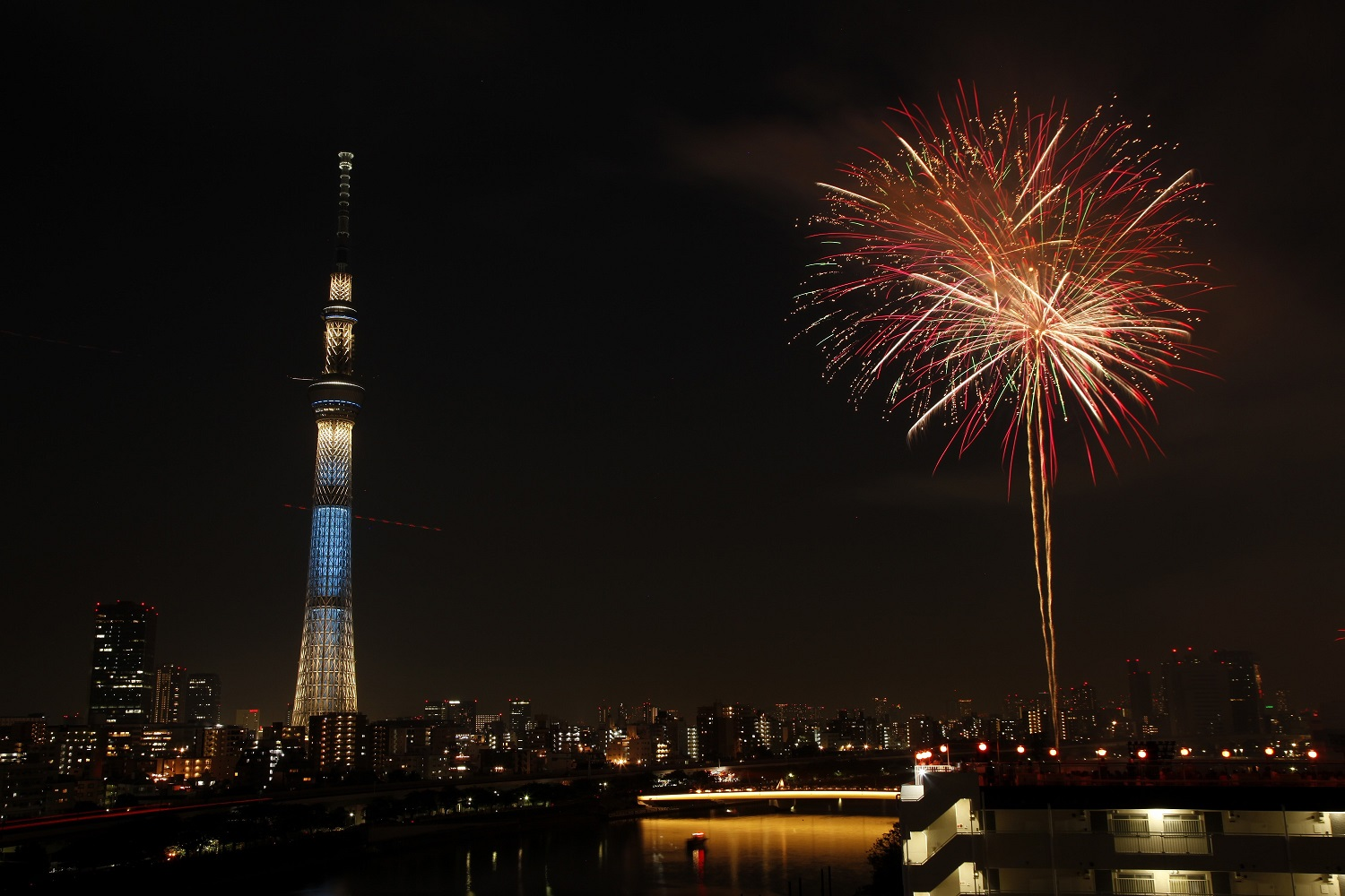 40e Feu d'artifice de Sumida-gawa 2017 (article d'amuzen)