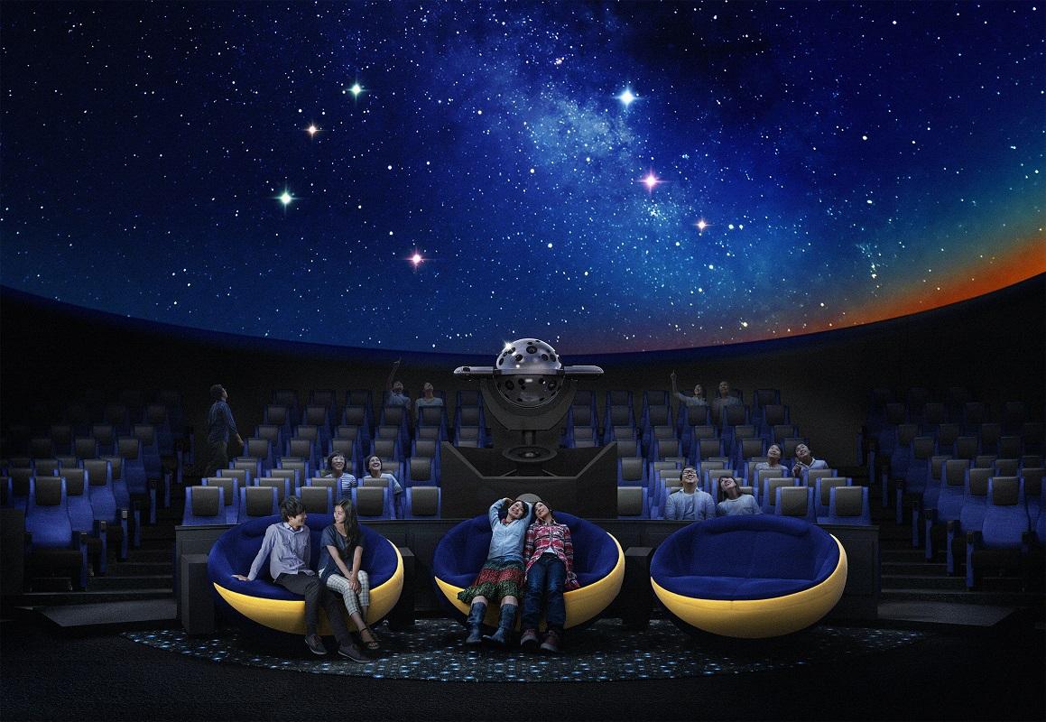 Planétarium « Tenku » : Voyage en France à la lumière des étoiles