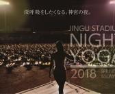 Jingu Stadium Night Yoga 2018