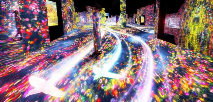 teamLab Borderless, un nouveau musée numérique à Tokyo