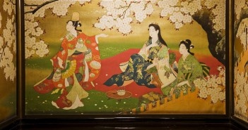 L'art autour du sakura à l'Hotel Gajoen Tokyo