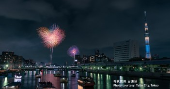 Festival de feux d'artifice de la rivière Sumida 2019