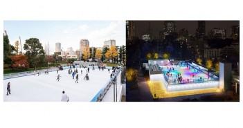 MIDTOWN ICE RINK Patinoire de Tokyo Midtown | amuzen